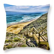 Wildflower Steps V2 Throw Pillow