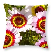 Wildflowerd Wide 1 Throw Pillow