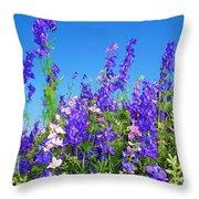 Wildflowers #11 Throw Pillow