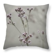 Wildflowers By The Lake Throw Pillow