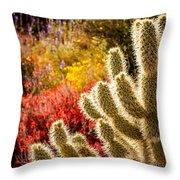 Wildflowers Ignite  Throw Pillow
