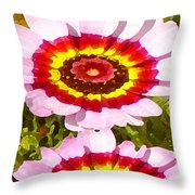 Wildflowers Tall Throw Pillow