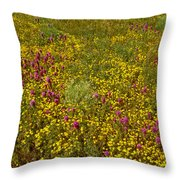 Wildflowers Vertical Throw Pillow