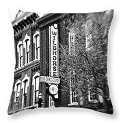 Wildhorse Saloon Throw Pillow