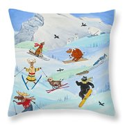 Wildlife Freestyle Throw Pillow
