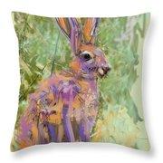 Wildlife Haas Throw Pillow