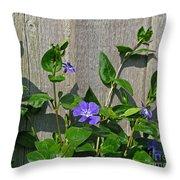 Wildly Purple Throw Pillow