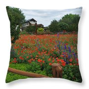 Wildseed Farms Throw Pillow