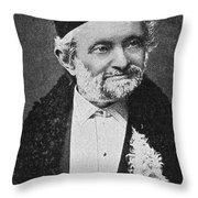 Wilhelm Eduard Weber (1804-1891) Throw Pillow