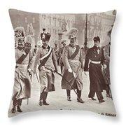 Wilhelm II & Sons Throw Pillow