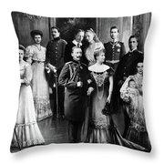 Wilhelm II (1859-1941) Throw Pillow