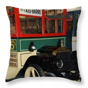 Wilkes Barre Bus   # Throw Pillow