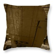 Will It Ever Fly Again Throw Pillow