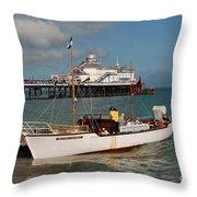 William Allchorn Eastbourne Throw Pillow