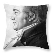 William Augustine Washington IIi Throw Pillow