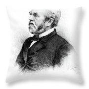 William Burnham Woods (1824-1887) Throw Pillow