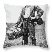 William Dinwiddie (1867-1934) Throw Pillow