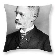 William Frederick Allen (1846-1915) Throw Pillow