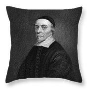 William Harvey (1578-1657) Throw Pillow