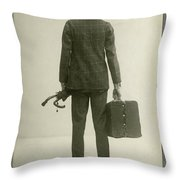 William Hodge (1874-1932) Throw Pillow