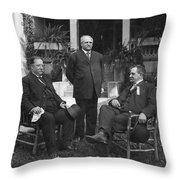 William Howard Taft(1857-1930) Throw Pillow