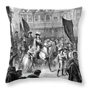 William IIi Of England (1650-1702) Throw Pillow