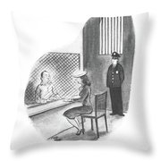 William, I've Decided To Give You Your Freedom Throw Pillow