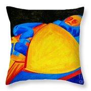William Longspee Throw Pillow