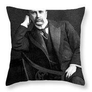 William Osler (1849-1919) Throw Pillow