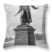 William Prescott (1726-1795) Throw Pillow