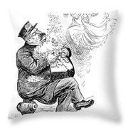 William S Throw Pillow
