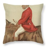 William Ward Tailby Throw Pillow