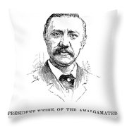 William Weihe Throw Pillow