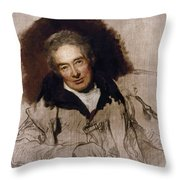 William Wilberforce (1759-1833) Throw Pillow