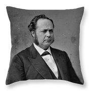William Windom (1827-1891) Throw Pillow