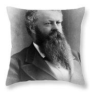 William Worth Belknap (1829-1890) Throw Pillow