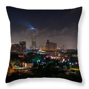 Williams Tower Beacon Throw Pillow