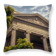 Williamson County Courthouse Throw Pillow