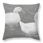 Willie N Waddle Throw Pillow