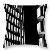 Willis Group And Lloyd's Of London Abstract Throw Pillow
