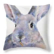 Willis Rabbit Throw Pillow