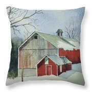 Williston Barn Throw Pillow