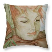 Willow Throw Pillow by Carrie Viscome Skinner