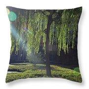 Willow Magic Throw Pillow