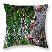 Willow Man Profile Throw Pillow