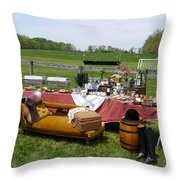 Willowdale - Dining In Style Throw Pillow