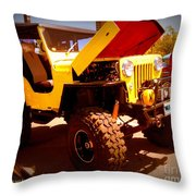 Willys 53 Throw Pillow