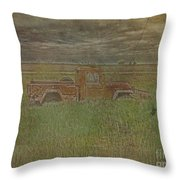 Willys Jeep 1952 Throw Pillow