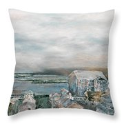 Wilmington Rooftops Throw Pillow