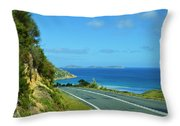 Wilsons Prom Throw Pillow